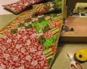 Long table runner Christmas 2