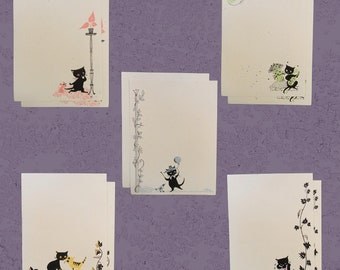 Kitty Kollection (15 piece stationery set)