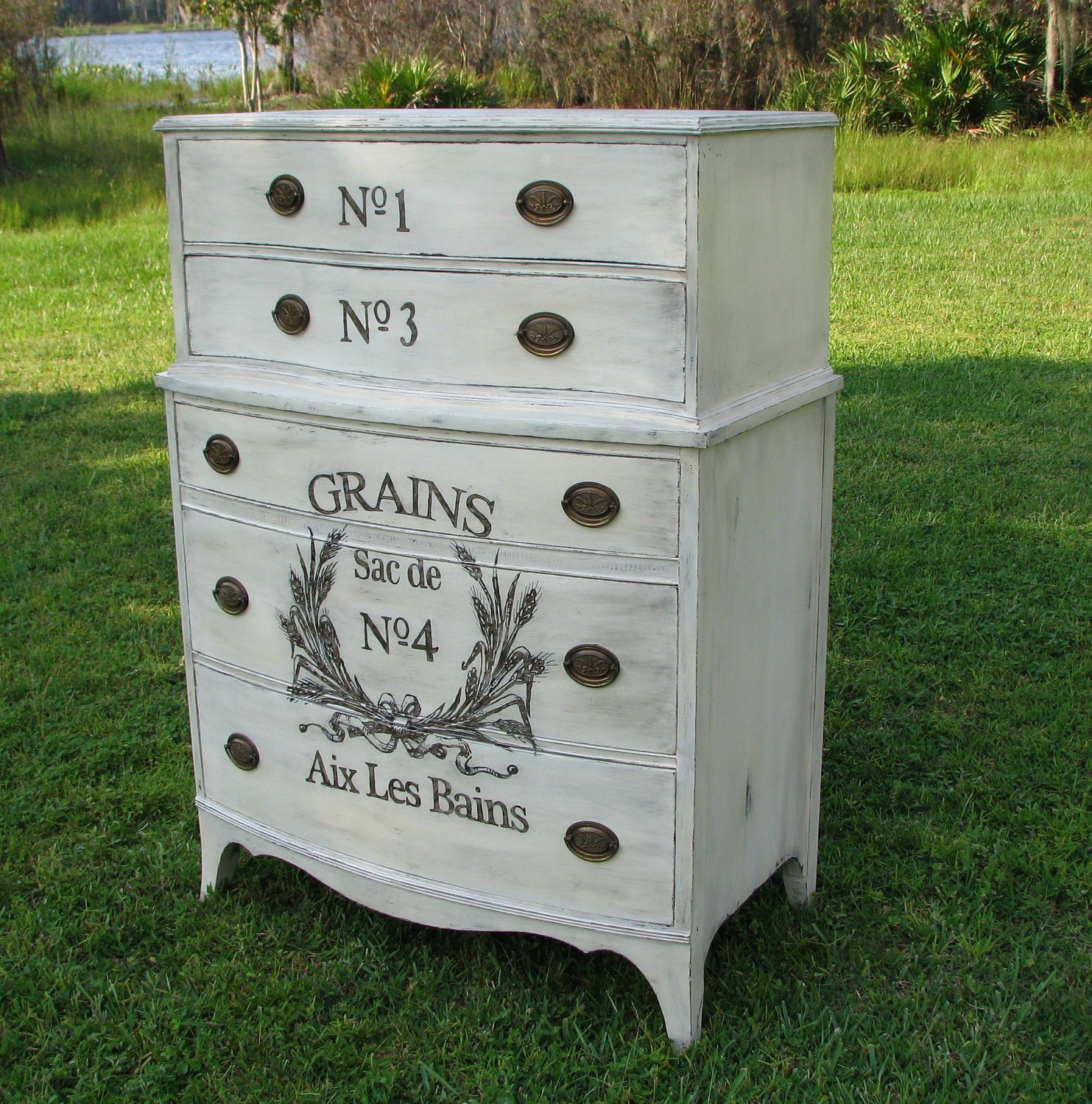 Dresser Shabby Chic 36 Fascinating DIY Home