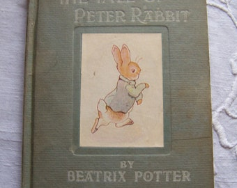 Rare 1918-1919 printing of The Tale of Peter Rabbit by Beatrix Potter