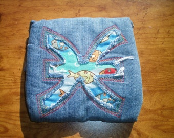 Pisces padded pouch