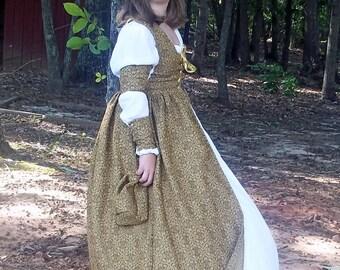 Irish Overdress, LARP, SCA, Renaissance Faire, Costume, Cosplay