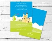 PRINCE and PRINCESS Birthday Party INVITATION from The Celebration Shoppe