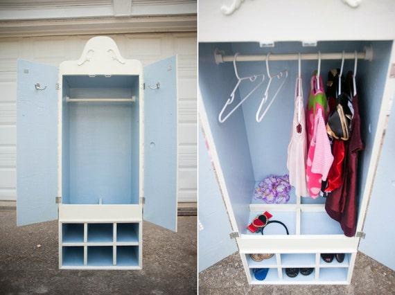 Exceptional Items Similar To Childrenu0027s Dress Up Wardrobe/Organizer   The Caitrin On  Etsy