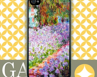 iPhone 6 Case, iPhone 6 Plus Case, iPhone 6 Edge Case, iPhone 5 Case, Galaxy S6 Case, Galaxy S5 Case, Galaxy Note 5 Case - Monet's Garden