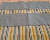 Set of 2 Matching Stripped Pillow Cases by Springmaid