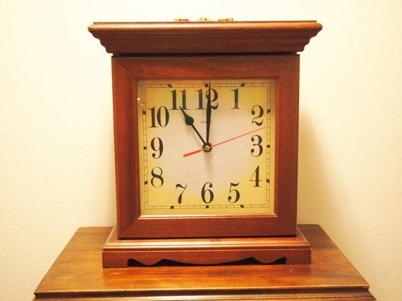 Vintage Powell Mantel Clock Jewlery Box