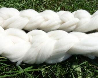 Spinners dream.  Gorgeous snow white Cormo top 4oz.