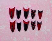 The Morticia Nails