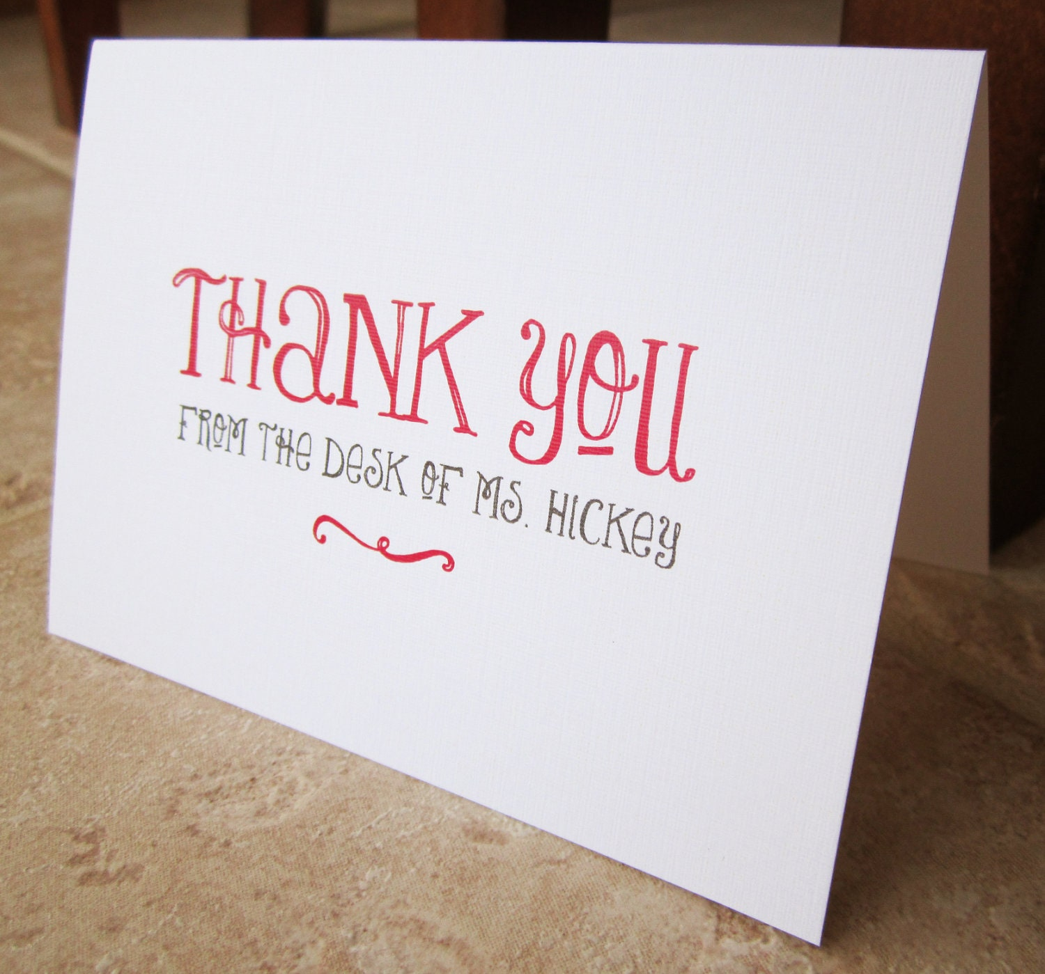 Personalized Stationery Gifts for Teacher Boss Friend