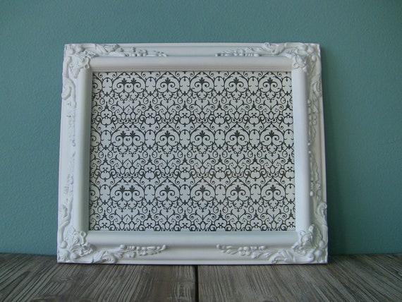 Lovely Decorative Ornate White Frame 8 x 10-Shabby Chic-Wedding Frames-Wedding Decor