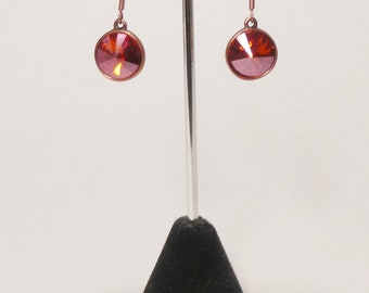 Pacific Sunset Chili Pepper and Copper Earrings