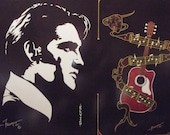 "Elvis Presley w/Guitar is a Limited Edition, 10""x13"", numbered Print of Original Art by Artist Charles Freeman"