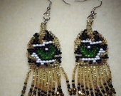 Leopard Eyes Earrings