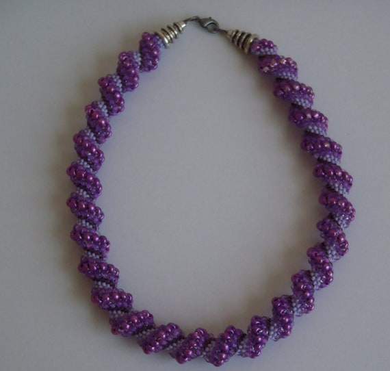 Purple Parade Choker