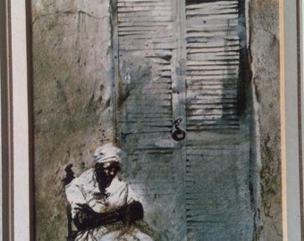 Andrew Wyeth THE BERMUDIAN professionally framed and matted