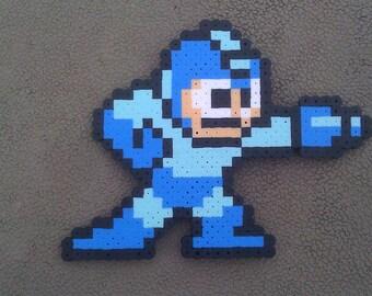 Original Megaman Perler Bead Sprite