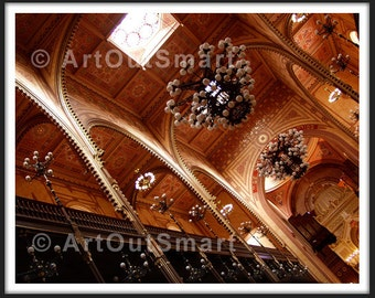Budapest Hungary -  Budapest Great Synagogue, Color or Black & White, Budapest Photography, Wall Art Decor