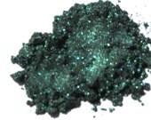 """Eye Shadow """"Emerald green"""" natural mineral make up VEGAN"""