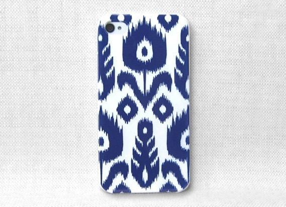 iPhone Case, iPhone Case 4, iPhone Case 4S, iPhone Case 4/4S - Ikat Pattern - 083