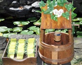 One-of-a-Kind Rustic Personalized Wedding Wishing Well w/ Marriage Year Pennies/Guest Book Alternative