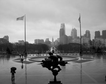Philadelphia -View from the Art Museum