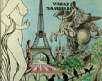 Paris Book original Illustrations - Cover