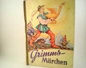 German Children's Book Grimm's Fairy Tales
