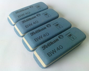 4 Pelikan BW40 Ink Erasers