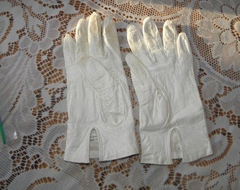 Italian Silk Lined Leather Gloves