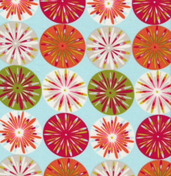 Fabric kumari garden holiday sashi 39 ice by dena designs 1 for Kumari garden fabric by dena designs