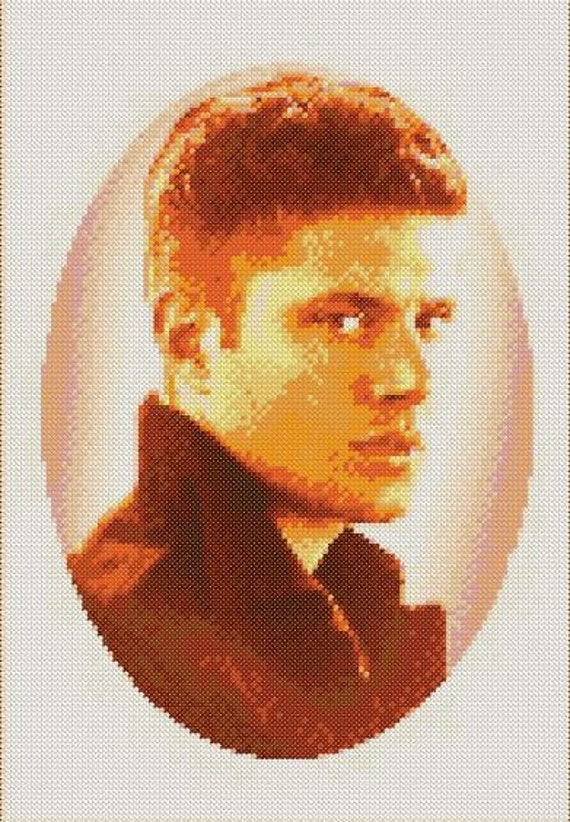 Jensen Ackles Portrait Cross Stitch Pattern