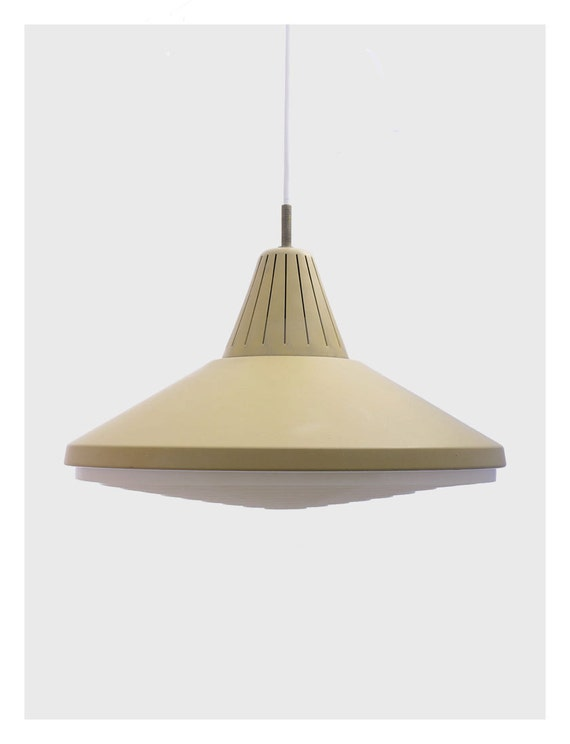 Ufo pendant lamp from mid century