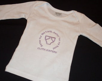 Better Earth, Better Bum  Semi-Custom Cloth Diapering Advocacy shirt