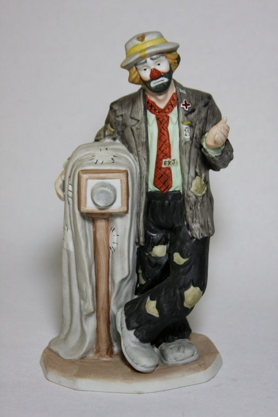 Emmett Kelly Jr Signature Collection By Flambro By