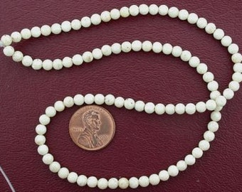 4mm round gemstone river stone beads