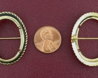 gold plated 30x22  cabochon antiqued pin mounting