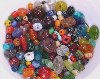 kilogram 2.2 pound asstd glass beads gem stone gemstone