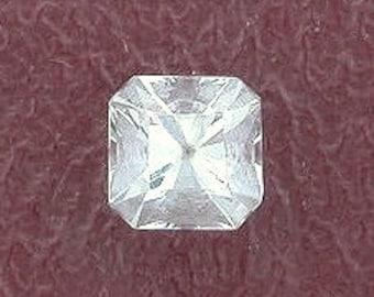 4mm square princess cut aquamarine gemstone gem stone
