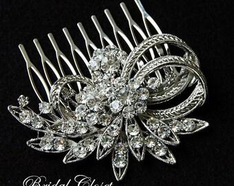 Bridal Hair Comb, Hair Comb Rhinestone, Bridal Comb Crystal, Wedding Hair Comb, Hair Comb, Wedding Accessory, Hair Comb, Bridal Comb