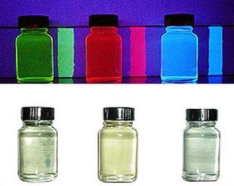 Transparent UV Reactive Paint