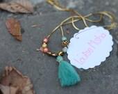 """Necklace """"Rétro"""" for women"""