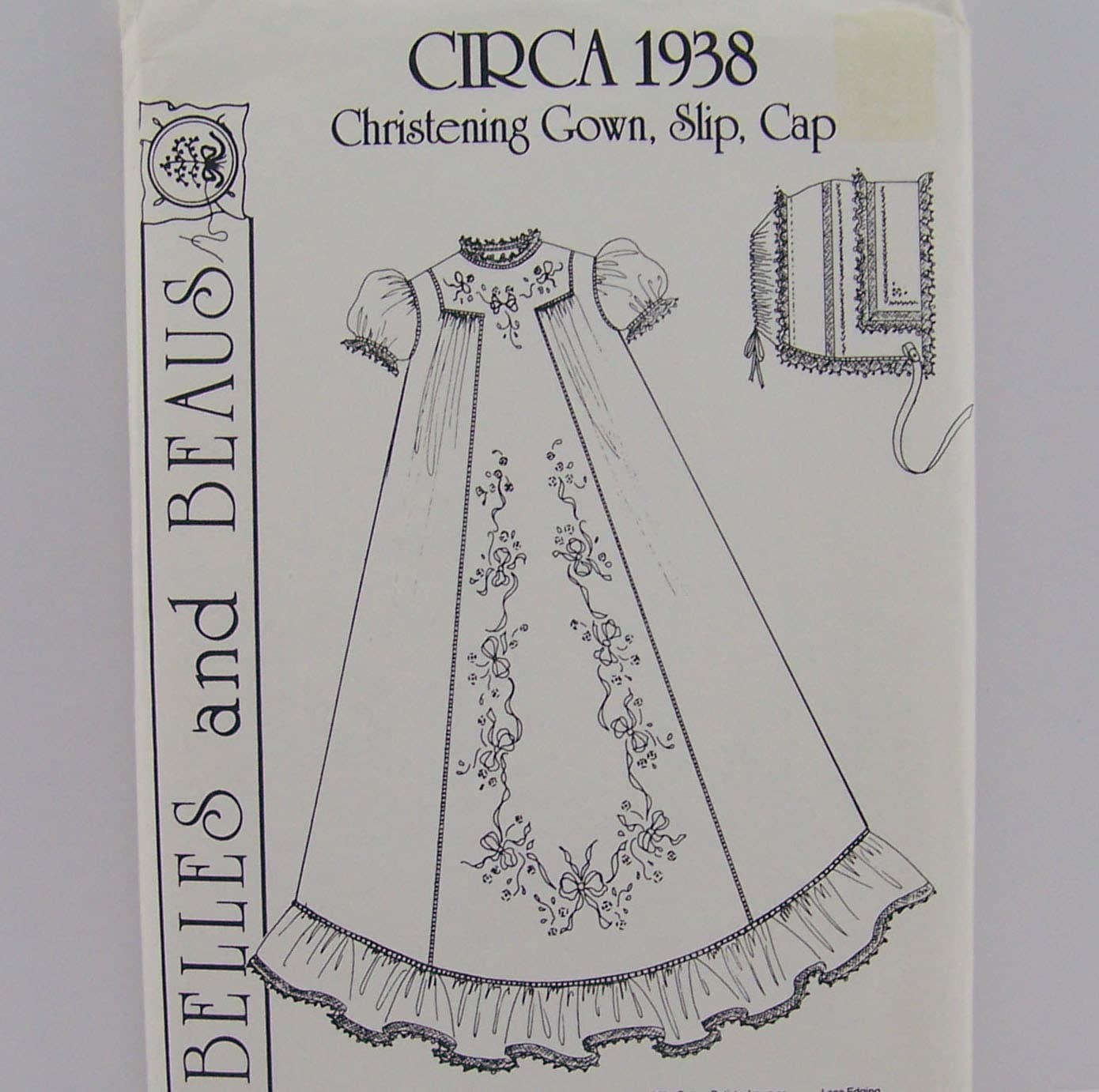 Vintage Pattern For Infant Christening Gown By