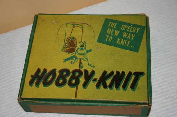 Knitting Machine Questions : Hobby knit knitting machine by carlysvintageshop on etsy