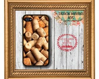 Wine Corks iPhone Case, Plastic iPhone Case, iPhone 4, iPhone 4s, iPhone 5,  iPhone 5s, iPhone 5c, iPhone 6, Wine Phone Case, Phone Cover