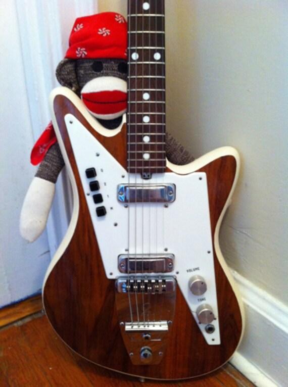 Items Similar To Funny Sweatshirt Cool Baseball Tshirt: Items Similar To 1967 (Circa) Galanti Grand Prix Guitar On