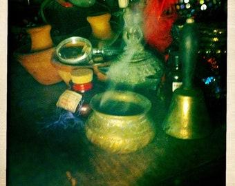 Haitian Bokor's BEAUTIFUL Antique Incense Burner