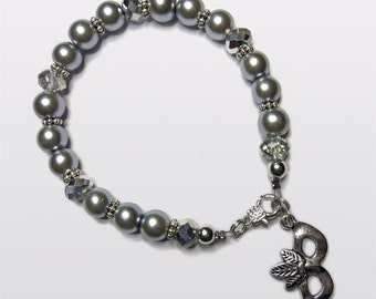 Fifty Shades of Grey inspired bracelet. 'Masked Ball'.