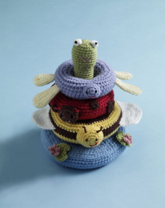 Crochet Pond Stacking Toy