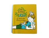 One Kitten for Kim, Yellow, 1969, childrens book